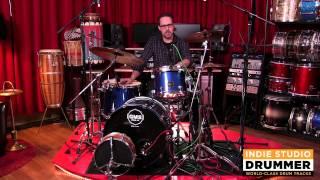 Aquarian Modern Vintage Drum Head Review, Part 1 - with Dylan Wissing of Indie Studio Drummer