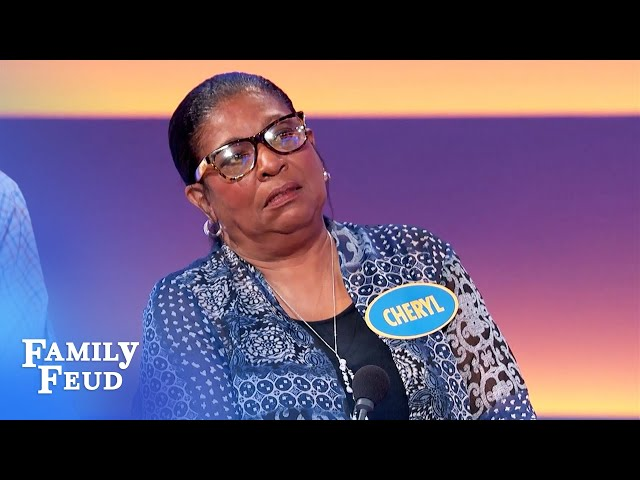 Your wife will slap you if you do this!   Family Feud