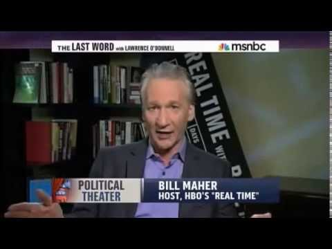 Bill Maher talks about the stupid tea party and republicans