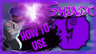 How To PROPERLY Uṡe SHIVER STYLE (Purple Shock)   EASIEST ONE SHOT COMBOS   Shindo