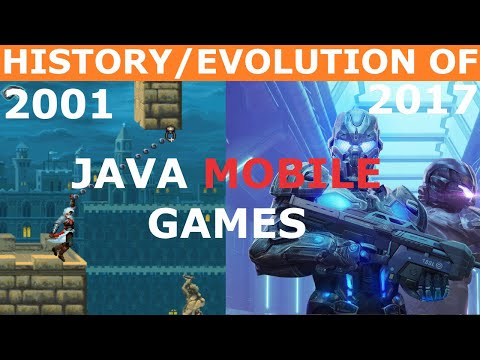History/Evolution Of Java Mobile Games (2001-2017)