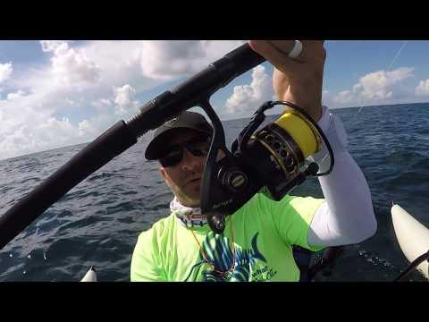 tips w/ ty - MY RODS FOR TROLLING OFFSHORE - king mackerel, mahi, shark kayak fishing