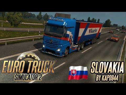ETS2 Slovakia map by kapo944