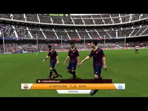 FIFA 14 l Gameplay #140 l Barcelona FC vs 1  Bahia