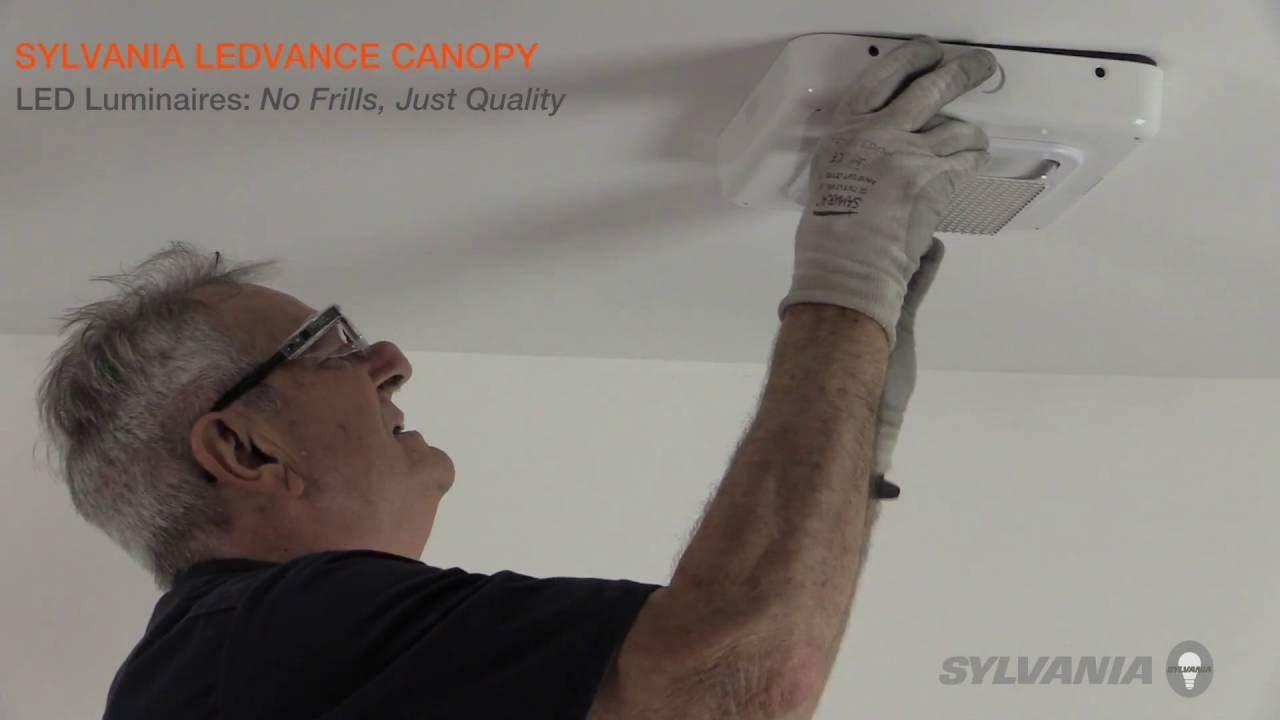 Sylvania ledvance canopy luminaire installation video en sylvania ledvance canopy luminaire installation video en espanol parisarafo Choice Image