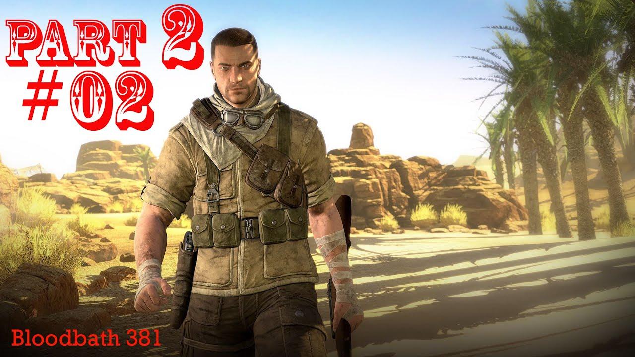 Sniper elite 3 mission 2 gaberoun 2 youtube sniper elite 3 mission 2 gaberoun 2 voltagebd Images
