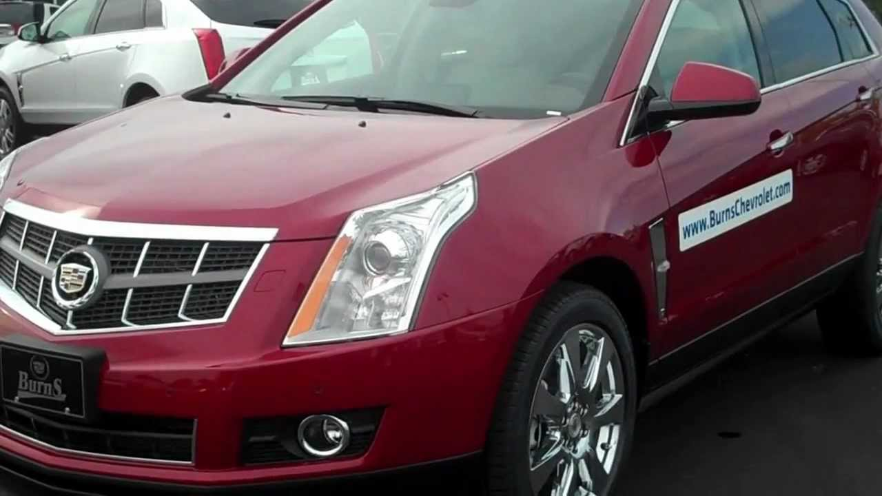 2012 Cadillac Srx Crystal Red Premium For Sale Rock Hill