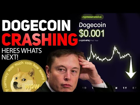 DOGECOIN CRASHING! ALL HOLDERS SHOULD KNOW THIS! DOGECOIN GOES HERE NEXT!