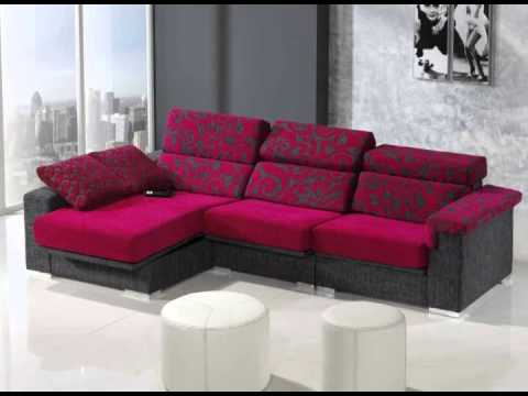 Cheslongs tapizados en colores vivos youtube - Tapizar sofa de piel ...