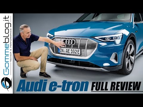 Audi e-tron FULL REVIEW INTERIOR and DESIGN | 1st Audi Electric SUV in depth