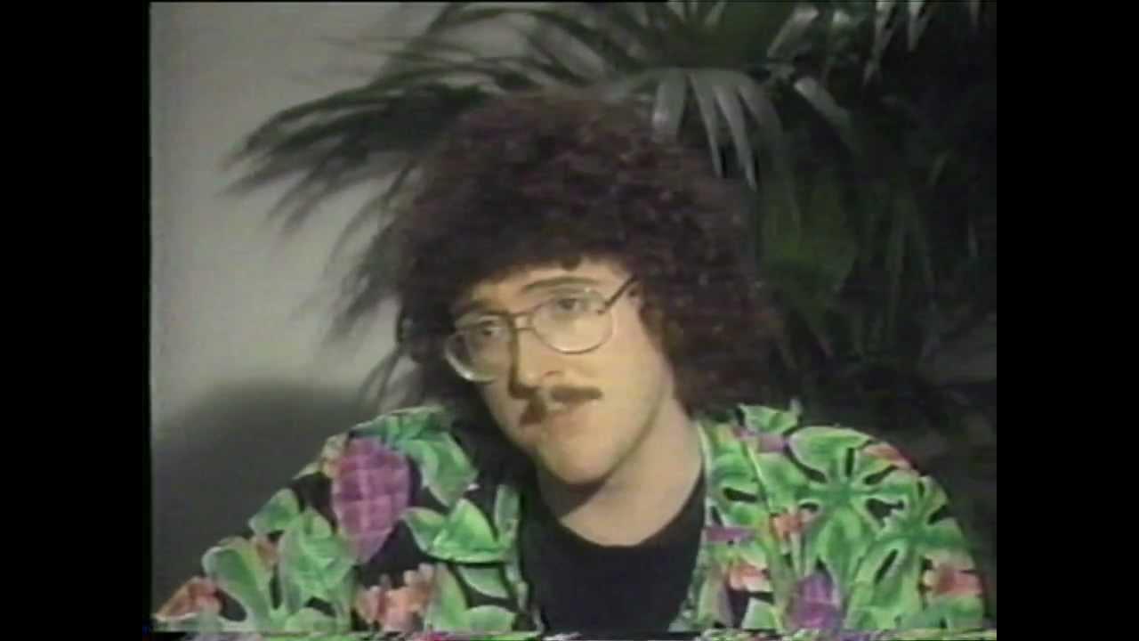 Weird Al Yankovic - Madonna Interview (1985) - YouTube