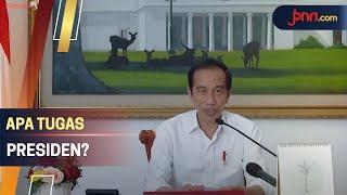 Jawaban Jokowi Saat Ditanya Apa Tugas Presiden oleh Siswi SD