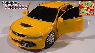 Игрушка Робот Трансформер Автобот. Распаковка и обзор от Игорька. Mitsubishi Car Toy