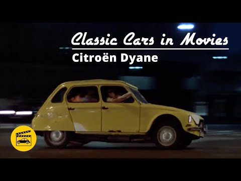 Classic Cars In Movies - Citroën Dyane