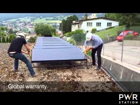 PWRstation Transportable Solar Generator - Corp Video