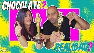 CHOCOLATE FOOD vs REAL Challenge Chocolate o Realidad Momentos Divertidos