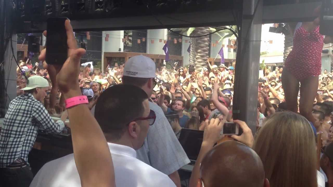 Avicii At Marquee Day Club Pool Party Cosmopolitan Hotel