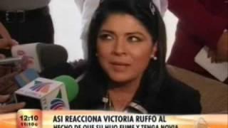 Victoria Ruffo sobre su hijo Jose Eduardo