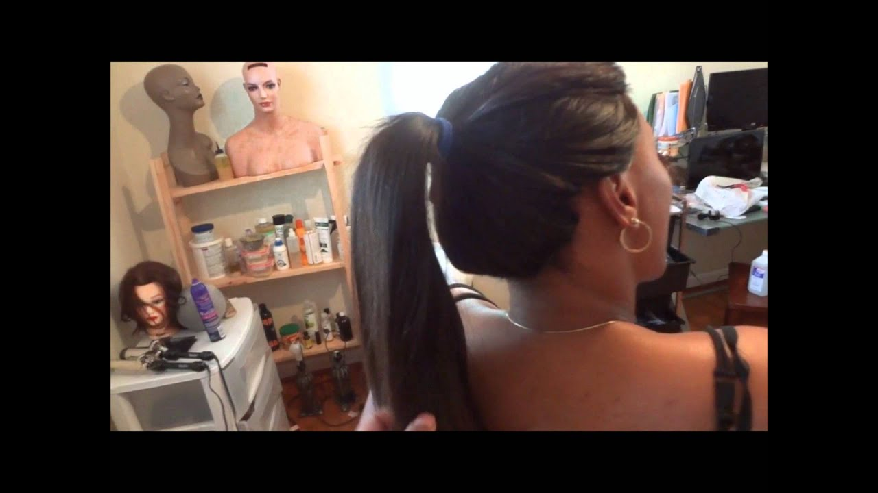 Full Sew In With Invisible Hairline No Glue 12 Leaveout Stacy