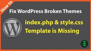 How to Repair Wordpress Theme