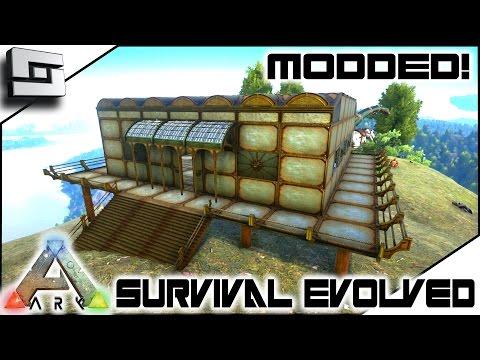 MODDED ARK: Survival Evolved - ARK ADVANCE COPPER BASE! E15 ( Gameplay )
