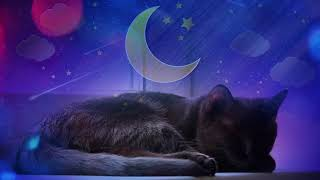 CAT MUSIC - 🐱💤 RELAXING MUSIC FOR CAT AND KITTEN (WITH CAT PURRING SOUND) 2 HOURS 4K
