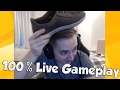 100% LIVE GAMEPLAY! - LoL Funny Stream Moments #57