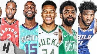 VERY BEST Highlights 2019 All-Star East Starters Giannis, Irving, Walker, Embiid &amp Ka ...