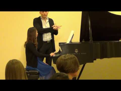 Masterclass with Michael Sheppard
