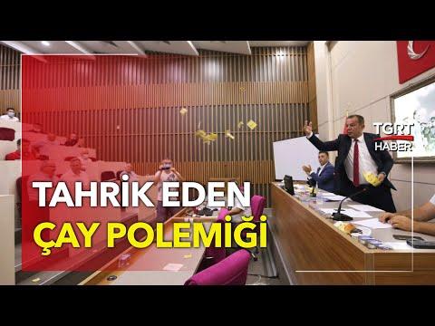 Tanju Özcan'dan Meclis'te Tahrik: AK Partililere Çay Fırlattı