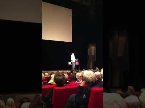 Maria Montazamis föredrag i Uppsala del 1