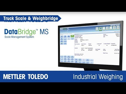 DataBridge™ MS Scale Management Software - Overview