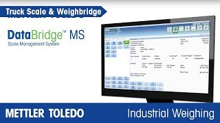 How Software can Increase Visibility into Truck Scale Operations - Product Video - MT IND - en