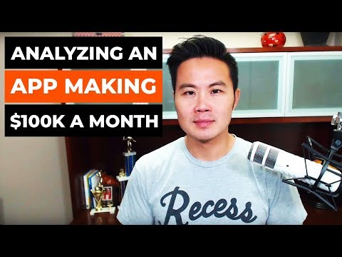 Analyzing An App Making $100K A Month