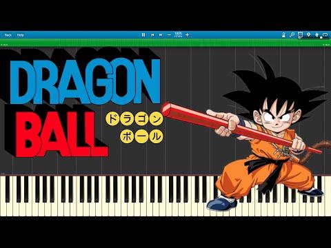 DRAGONBALL 「CHA-LA HEAD-CHA-LA」 Piano