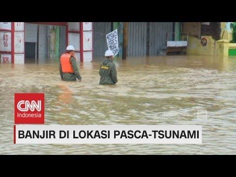 Pasca-Tsunami, Labuan Banten Diterjang Banjir