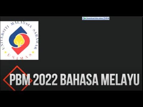 PBM 2022 bahasa melayu