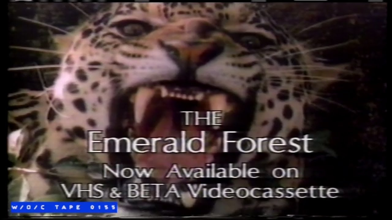Download The Emerald Forest VHS Spot - 1985