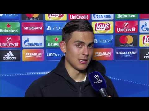 PAULO DYBALA AFTER MATCH INTERVIEW JUVENTUS-BARCELONA 2017