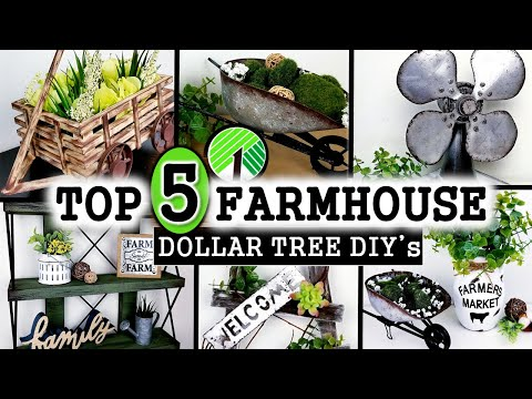 top-5-dollar-tree-diy's-|-best-farmhouse-diy-decor-|-home-decor-ideas