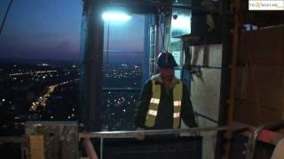 Budowa Sky Tower 18 maj 2011 Wrocław