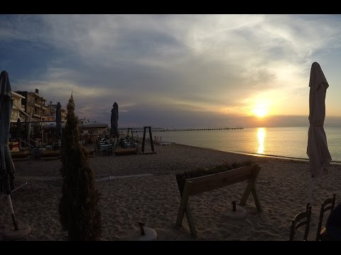 One Afternoon and Evening at Perea Town in Greece