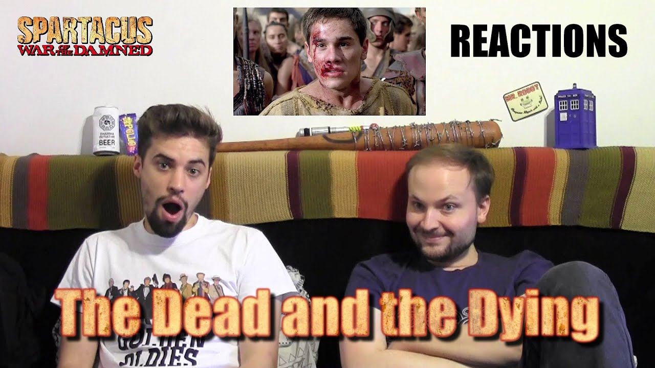 """Download Spartacus : War of the Damned 3x09 """"The Dead and the Dying"""" REACTIONS"""