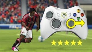 FIFA 13 ALL 49 SKILLS TUTORIAL(3D CONTROLLER) |5 STARS SKILLS -EP1