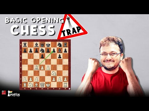 Basic Opening Chess Trap | The weakest spot in Black's camp | Mikhail Tal