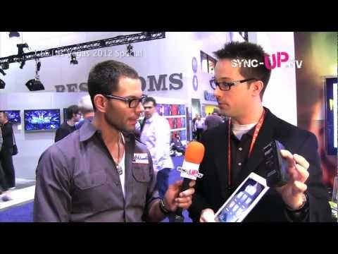 Monster Power Control App features  SyncUP.TV CES 2012