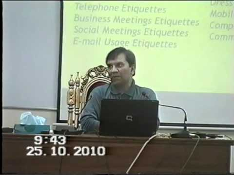 01 -Etiquettes and Manners - Historical and Psychological Developments
