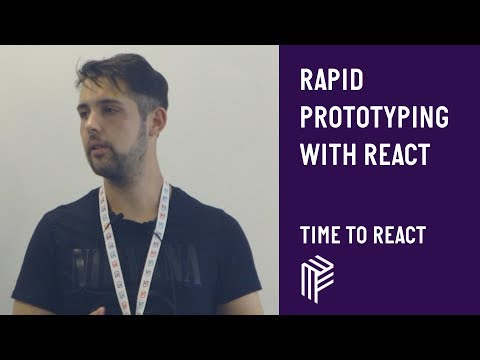 Rapid Prototyping with React - Time to React  - July 2019 thumbnail