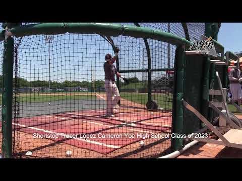 Shortstop Tracer Lopez Cameron Yoe High School Class of 2023