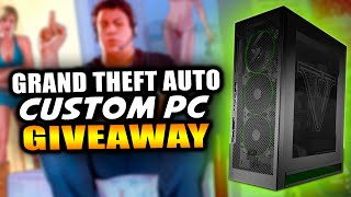 """GTA 5 PC - EPIC Rockstar Games Customized """"Grand Theft Auto 5"""" Themed PC GIVEAWAY! (GTA V)"""